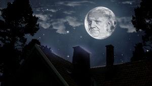 Sibeliuksen naama kuussa