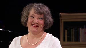 Kirjailija Monica Fagerholm