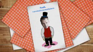 Kuvassa pelikortti, jossa on Sauli Niinistö.