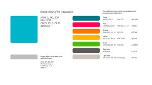 Yle colour palette