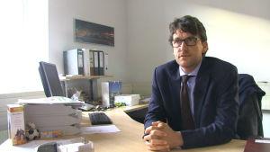 Kai Schulz, presstalesman för staden Dresden