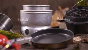 Spritkök och Dutch Oven