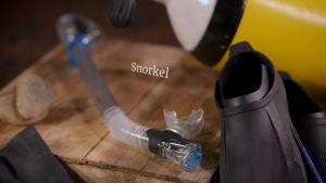 Snorkel med ventil