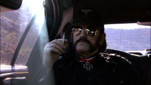 Lemmy Kilmister limusiinissa