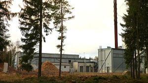 Advens flisverk vid Genencors fabrik i Hangö.