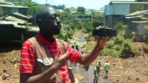 Boy Dallas kuvaa Kiberassa