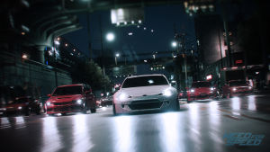 En bild ur spelet Need for Speed