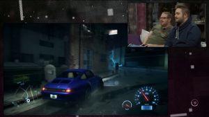 Ted Forsström och Benny Holmström spelar Need for Speed
