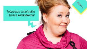 Jenny Lehtinen: Työpaikan tuhahtelija on tuleva koliikkikeinu