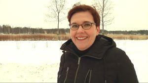 Katarina Forsell, styrelsemedlem i Isnäs föräldraförening.