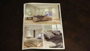 Moderna sovrum i gamla bostäder.