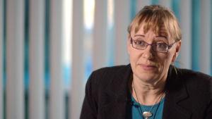 Tiina Lappalainen, socialpolitisk expert på Invalidförbundet