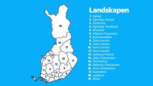 Finlands landskap 2011