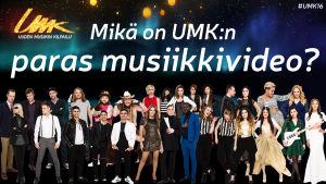 Mikä on UMK:n paras musiikkivideo?
