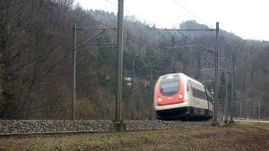 Schweiziskt tåg