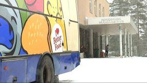 Jonttes butiksbil kör runt ett tiotal flyktingförläggningar.