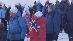 Gott om publik vid norska mästerskapen 2016 i Tromsö