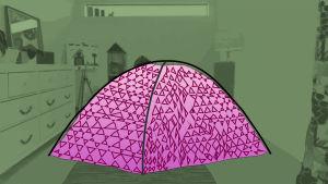 tuunattu teltta