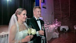 Janita Hämäläinen ja Sami Kettunen.