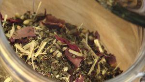 eb kryddblandning i en burk