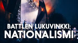 Pikkuleijonien kultajuhla Mäntymäen kentällä ja teksti Battlen lukuvinkki: nationalismi
