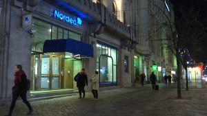 Nordea harjoittaa pankkitoimintaa Pohjoismaissa.