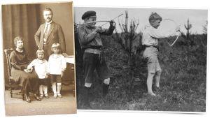Tapio Wirkkalan lapsuuskuvia