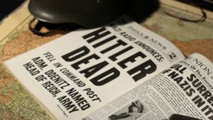 Daily News nyheter om Hitlers död