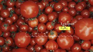 Tomater innehåller lykopen.
