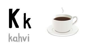 K - kahvi