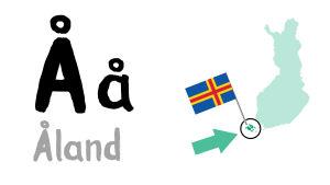 Å - Åland