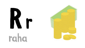 R - raha