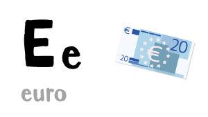 E - euro