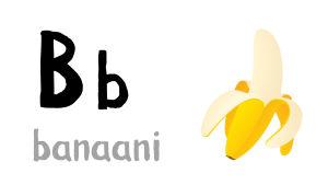 B - banaani