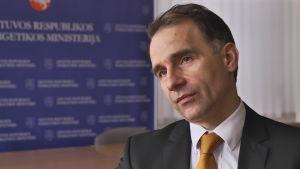 Litauens energiminister Rokas Masiulis