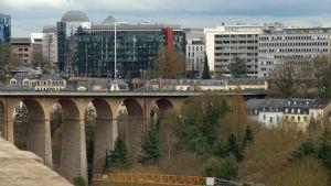 Vy över Luxemburg