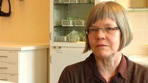 Irma Braskén, enhetschef för Mehiläinen i Karis och Ekenäs.