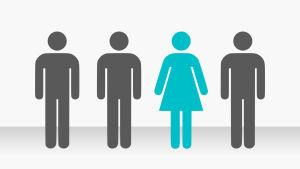 Kvinnors andel i börsbolagen