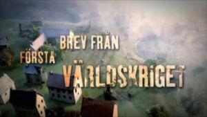 Bild som representerar serien Brev från första världskriget