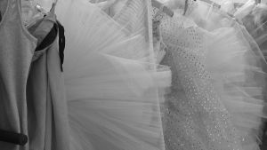 Balettiasuja.
