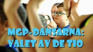MGP-dansarna på uttagningar i Helsingfors
