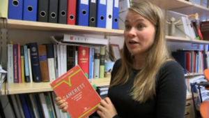 Susann Skogvang har skrivit en bok om samerätt.