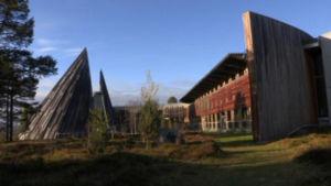 Sametingets byggnad i Norge.