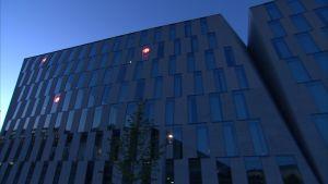 OP-ryhmän Vallilan-kortteli Helsingissä.