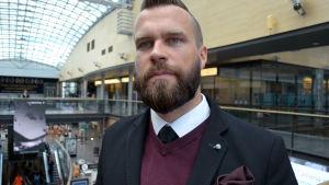 Niklas Anttila, Leasing Manager på Citycon som bla. äger Iso Omena