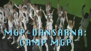 MGP-dansarna filmar musikvideo 2016.