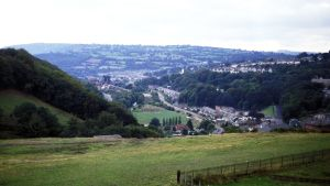 Maisema Walesissa.