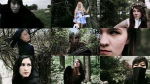 Joitakin Nightwish-fanien luomia hahmoja yhteityönä syntyneeltä musiikkivideolta.
