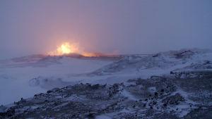 Bovanenkovossa Jamalin niemimaalla talvi kestää yli 260 päivää.