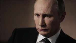 Vladimir Putin lähikuva